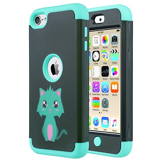 33 opinioni per ULAK- Cover per iPod Touch 6 / 5 Case -iPod Touch 6 Custodia ibrida a protezione
