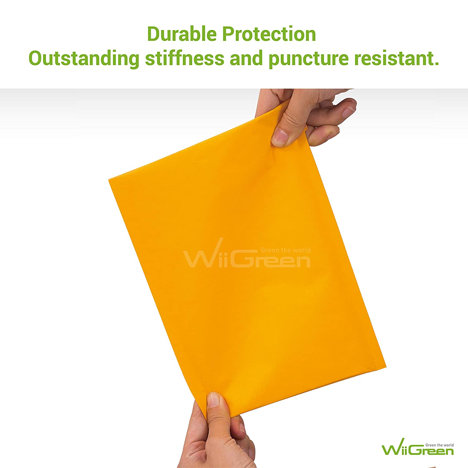 Wholesale Price WiiGreen #3 200 PCS 8x15 Inches Kraft Bubble Mailers Padded Envelopes with Peel and Seal for Packing and Shipping