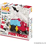 LaQ Hamacron Constructor FIRE Truck - 4 Models, 170 Pieces - Creative Construction Toy