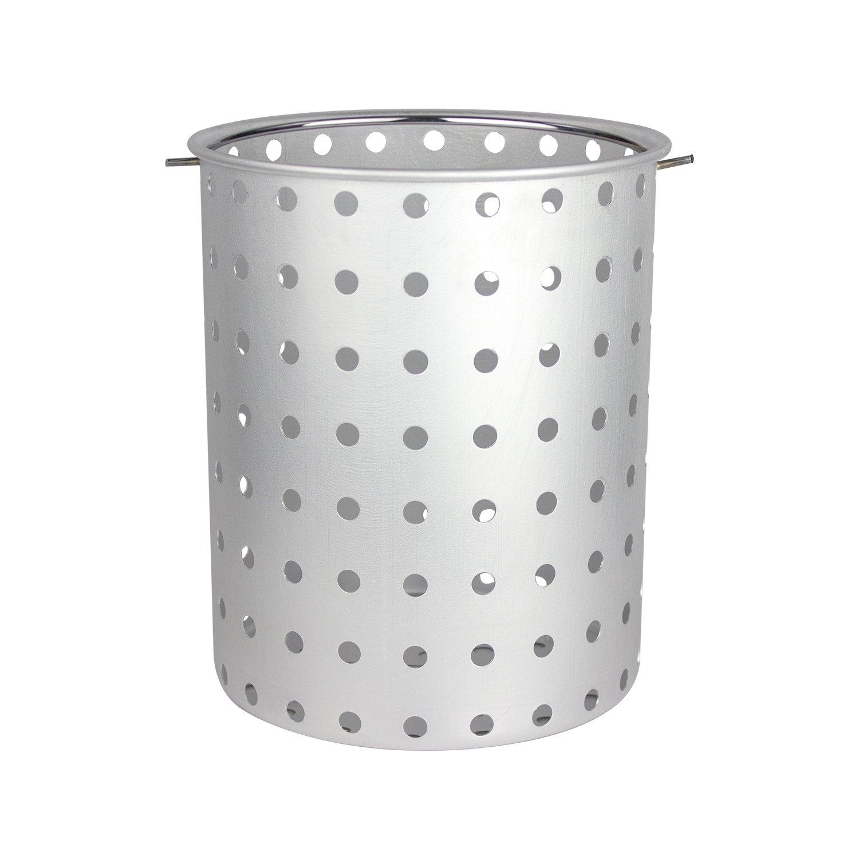 CHARD AFB-30 Aluminum Frying Basket Pots, 30-Quart by Chard