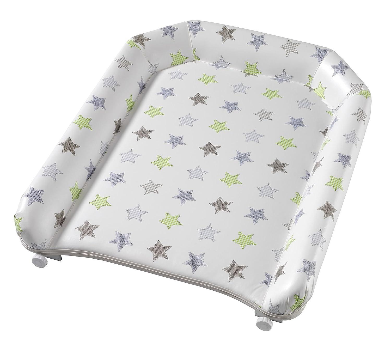 Wickelplatte 4814 f/ür jede Kinderbettbreite Geuther Eule bunt zum auflegen