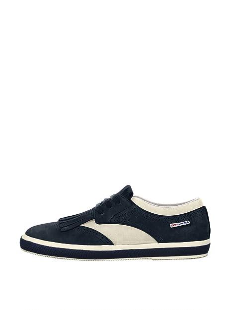 47899eebebabd Superga - Zapatillas para hombre Off White-Navy  Amazon.es  Zapatos y  complementos
