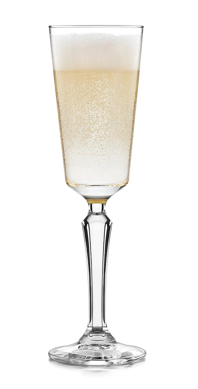Libbey Capone 4-piece Flute Glass Set 56732