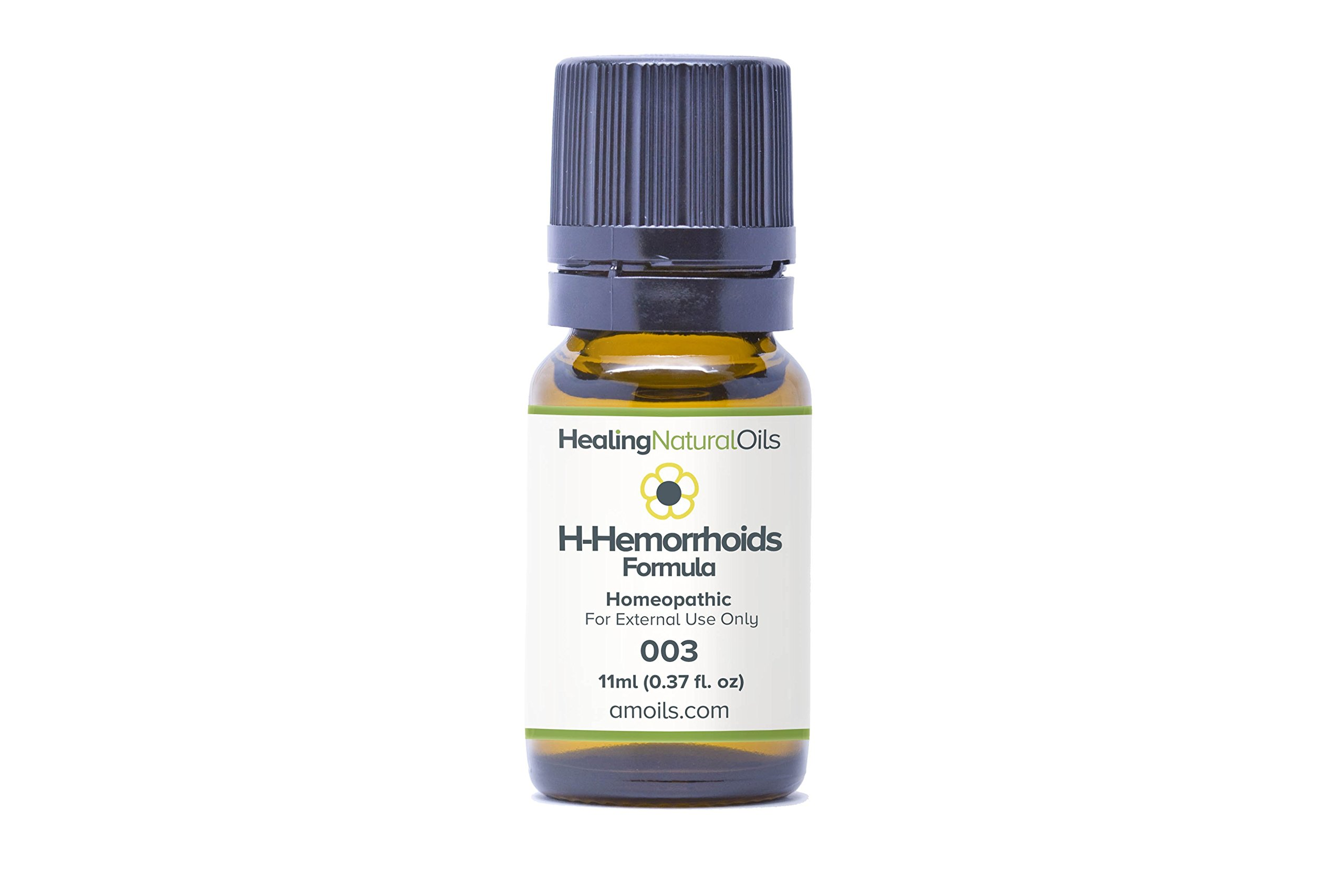 H- Hemorrhoids Relief (11ml): Natural Hemorrhoid Treatment for Internal, External or Thrombosed. Reduce Swelling, Itching and Burning Immediately. A Natural Alternative to Traditional Hemorrhoid Cream by Healing Natural Oils