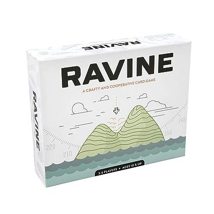 Amazon.com: Ravine: Un juego de cartas astuto y cooperativo ...