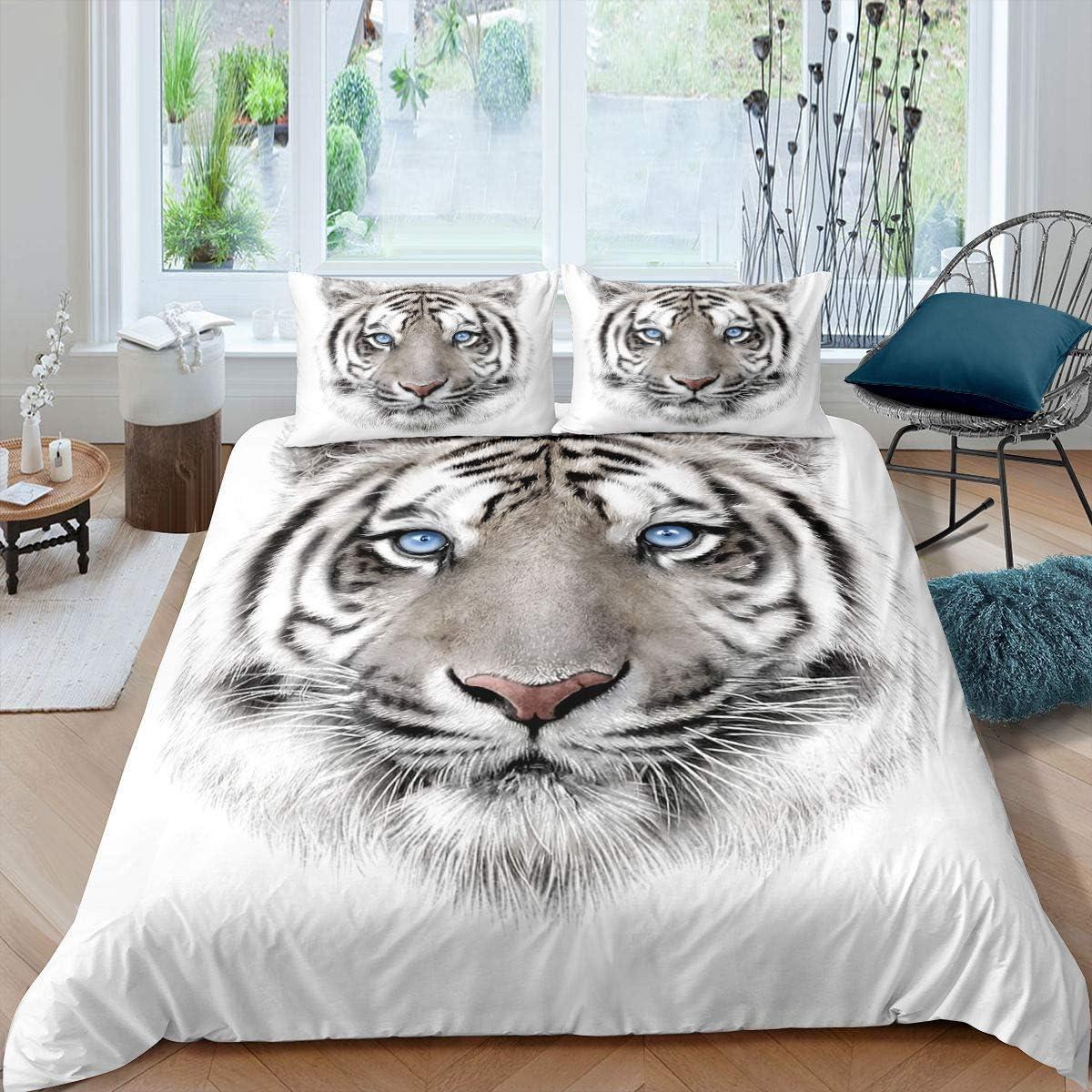 Erosebridal Kids Tiger Comforter Cover Wild Super beauty product restock quality top Brand Cheap Sale Venue Bedding Print Animal