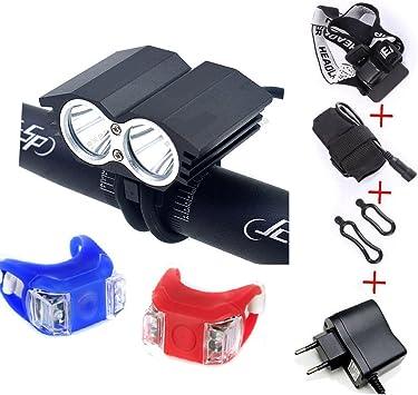 SEC LED LuzLáMPARA Frontal Cabeza CREE XM-L U2 5000 lúmenes LED de ...