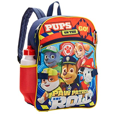 Paw Patrol Backpack and Lunch Box - Paw Patrol School Supplies For Boys And Girls: Clothing