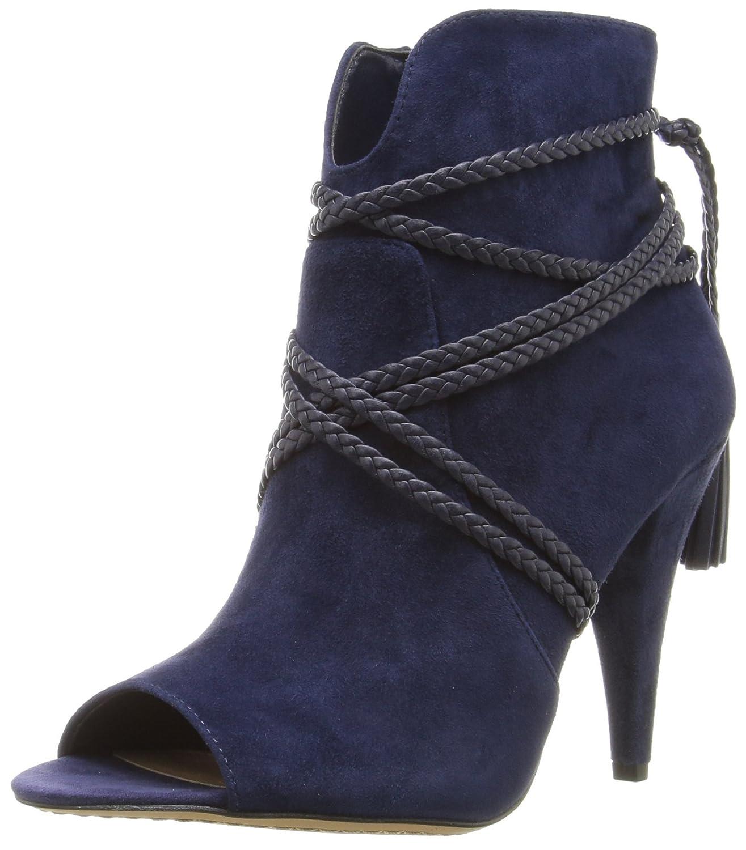 Vince Camuto Women's Astan Ankle Bootie B01J6E27XI 7.5 B(M) US|Navy Haze