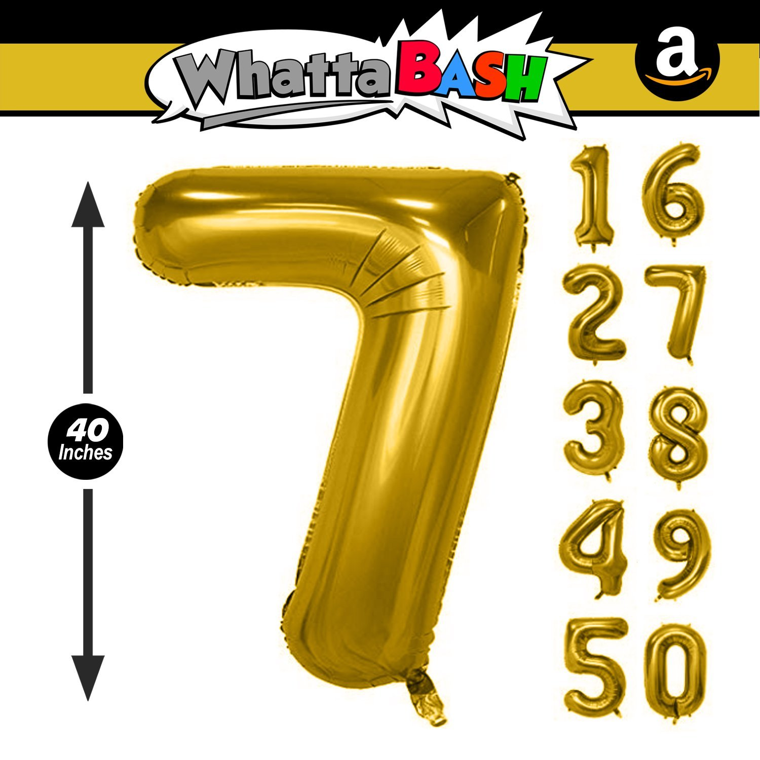 Black,Number 7 40 Inch Black Jumbo Number 7 Seven Balloon Giant Large Balloons Foil Decoration Supplies For Birthday Party Wedding Bridal Shower Anniversary Engagement Photo Shoot Gift Accessories