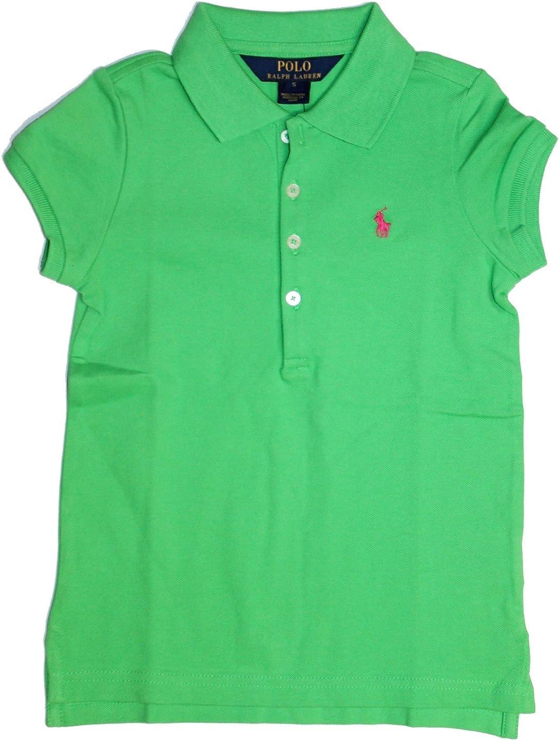 Polo_Ralph Lauren - Camiseta de manga corta - para niña Verde ...