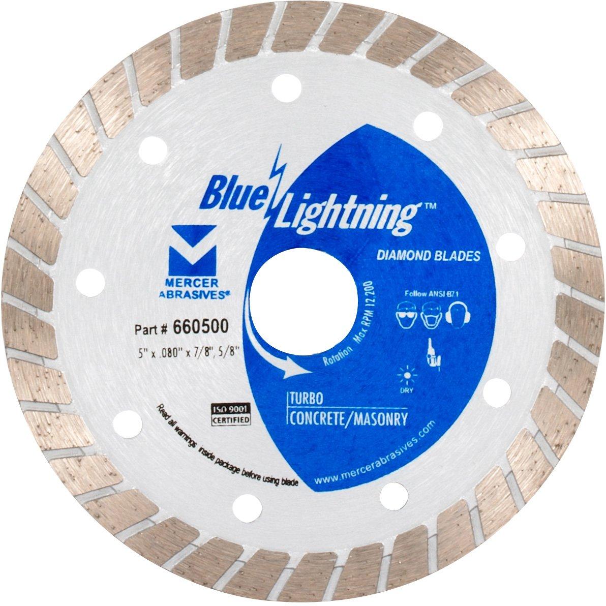 Disco de Diamante MERCER turbo Blue Lightning 660500 5 pulg.