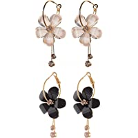 Shining Diva Fashion Gold Plated Stylish Fancy Party Wear Earrings For Women & Girls - Combo of 2(Multi-Colour)(cmb274_9504er_9503er)