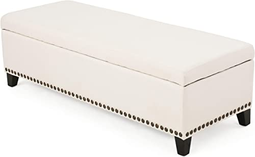 Christopher Knight Home Isra Fabric Ottoman