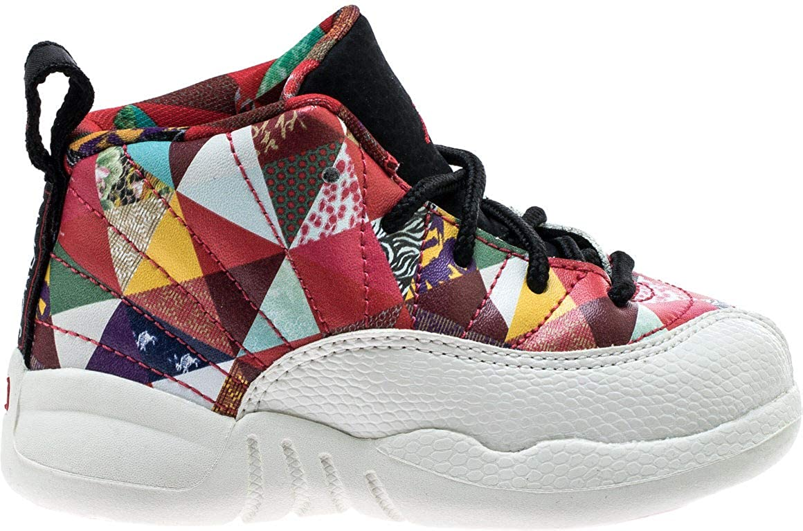 new concept 4f14e a6348 Amazon.com | Nike Jordan 12 Retro CNY (td) Toddler Bq6499 ...