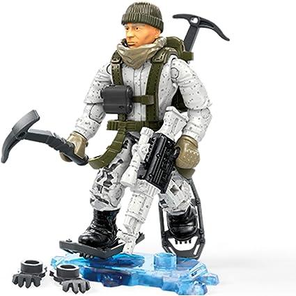 Amazon Com Mega Construx Call Of Duty Arctic Ranger Toys Games