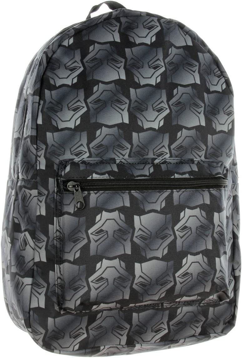 Black Panther Backpack Marvel Mask All Over Print
