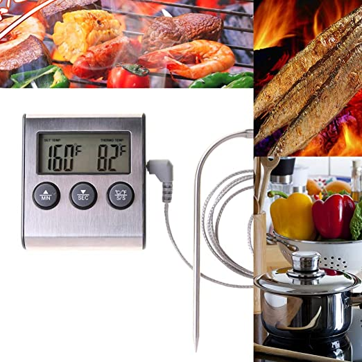 Review Food Thermometer Probe -