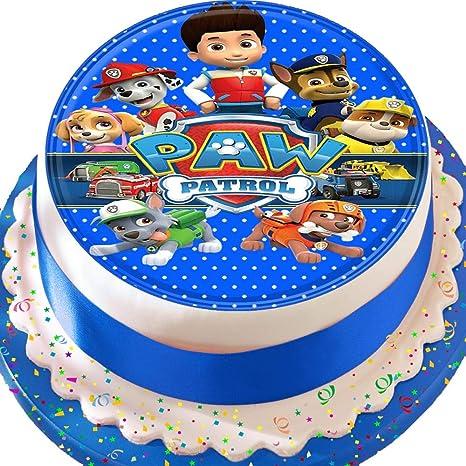 Decorazione per torta pretagliata, cake topper commestibile con