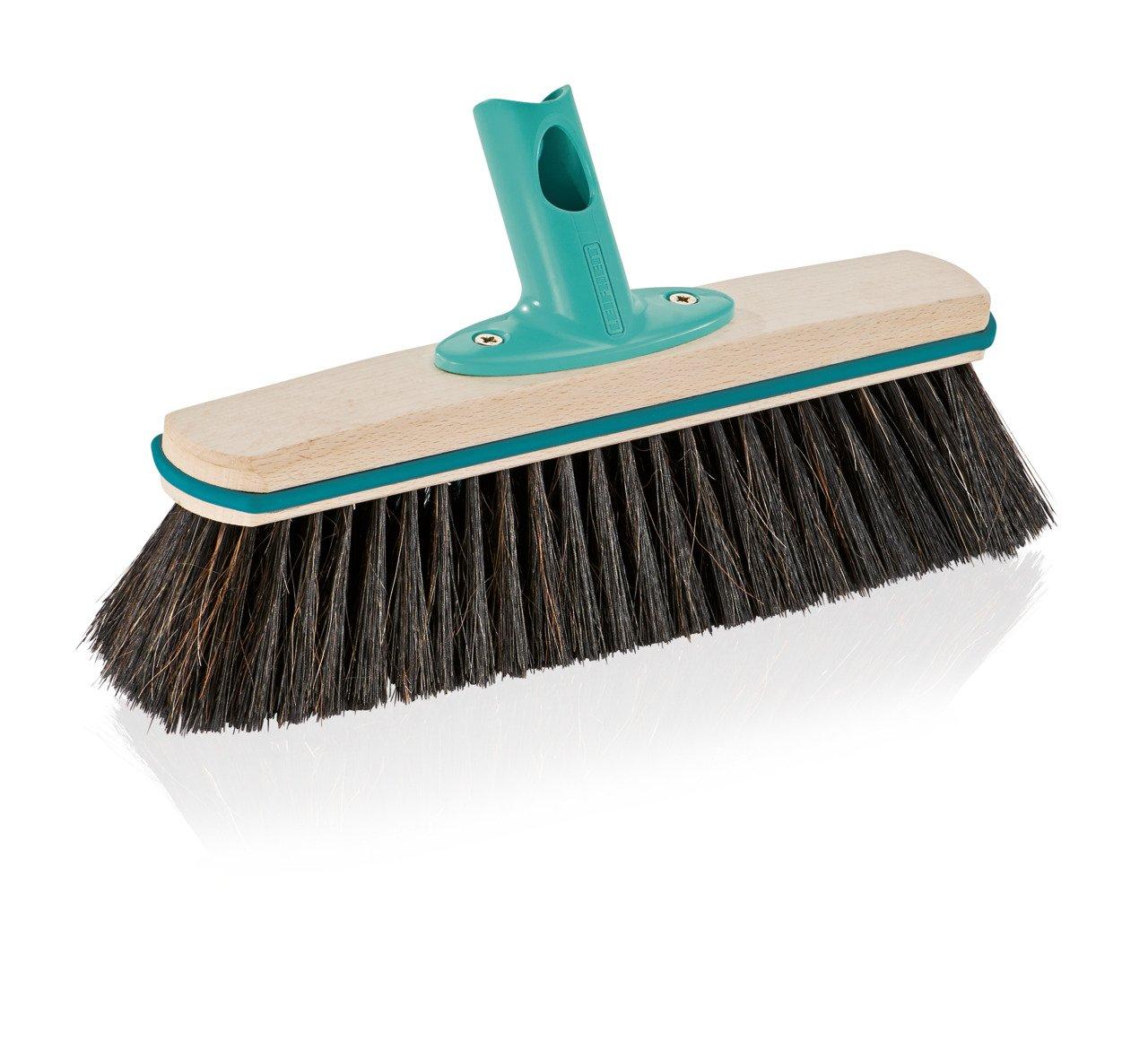Leifheit Hard Floor Broom Xtra Clean Eco Plus 30 cm, Floor Broom, House Broom, Dustpan Brush, Wood / Mint Green, 45002 by Leifheit (Image #3)