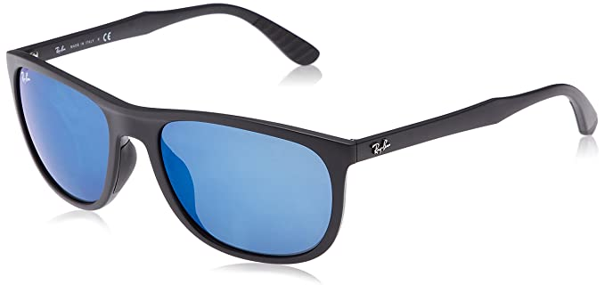 29113dd725 Image Unavailable. Image not available for. Color  Ray-Ban Men s Injected  Man Sunglass Iridium Square