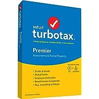 TurboTax Premier + State 2019 Tax Software PC/Mac Disc Deals