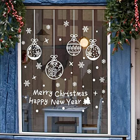 Autocollant fenêtre décoration