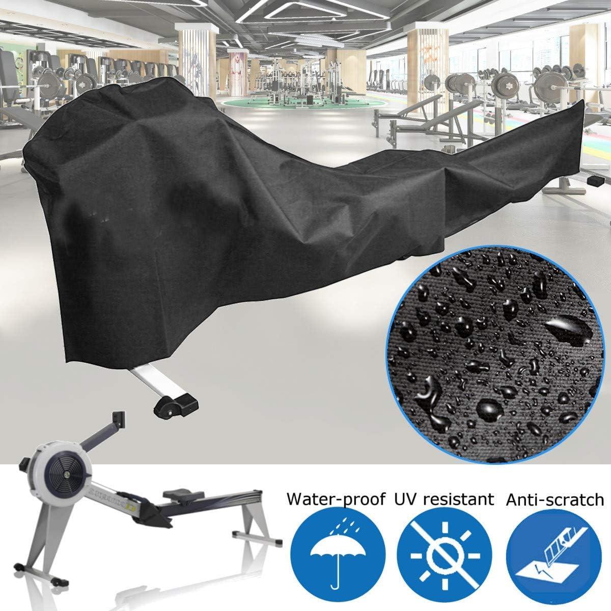 dDanke Funda Protectora para máquina de Remo a Prueba de Polvo, 285 x 51 x 89 cm, para Uso en Interiores o Exteriores