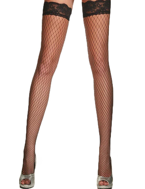 0f3982b51da27 Yummy Bee Suspender Belt Plus Size Deep Wide + Lace Top Stockings Garter  Lingerie 6-18: Amazon.co.uk: Clothing