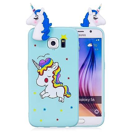 Amazon.com: Galaxy S6 Case,Samsung S6 Case,DAMONDY 3D Cute ...