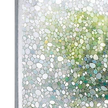 Homein 3d Fensterfolie Window Film Selbstklebend Milchglasfolie