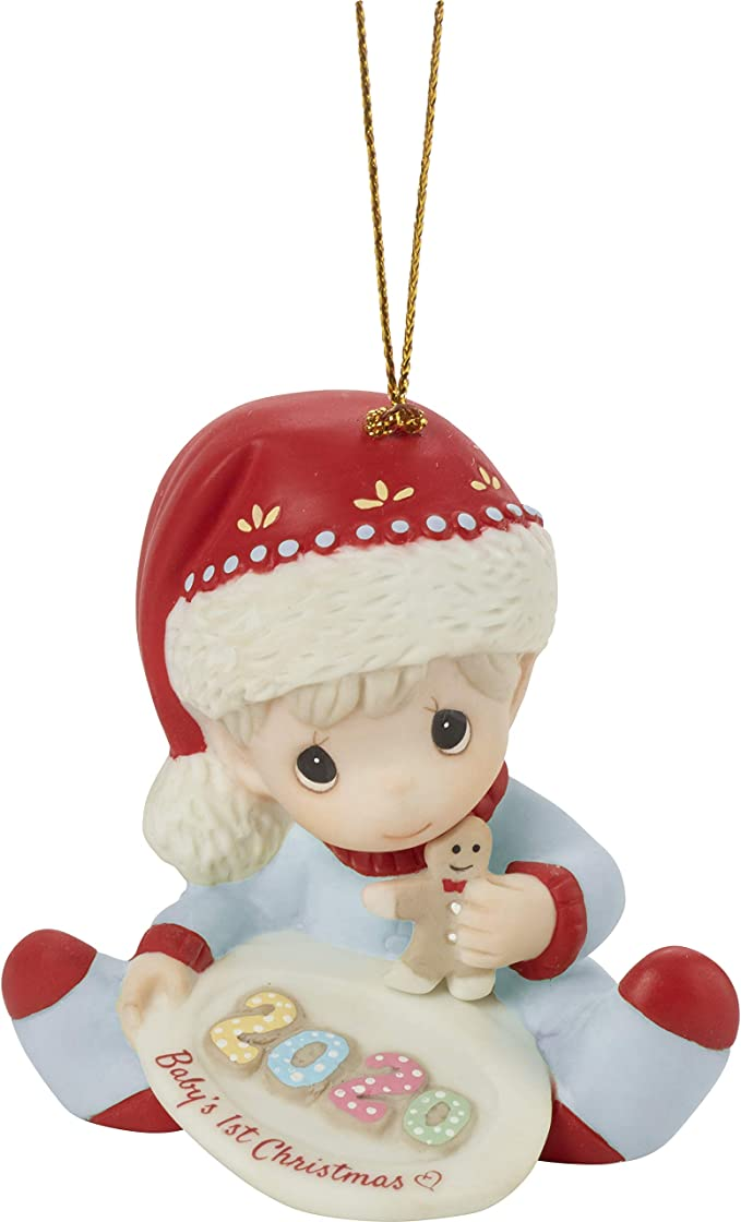 Amazon.com: Precious Moments 201006 Baby's 1st Christmas 2020