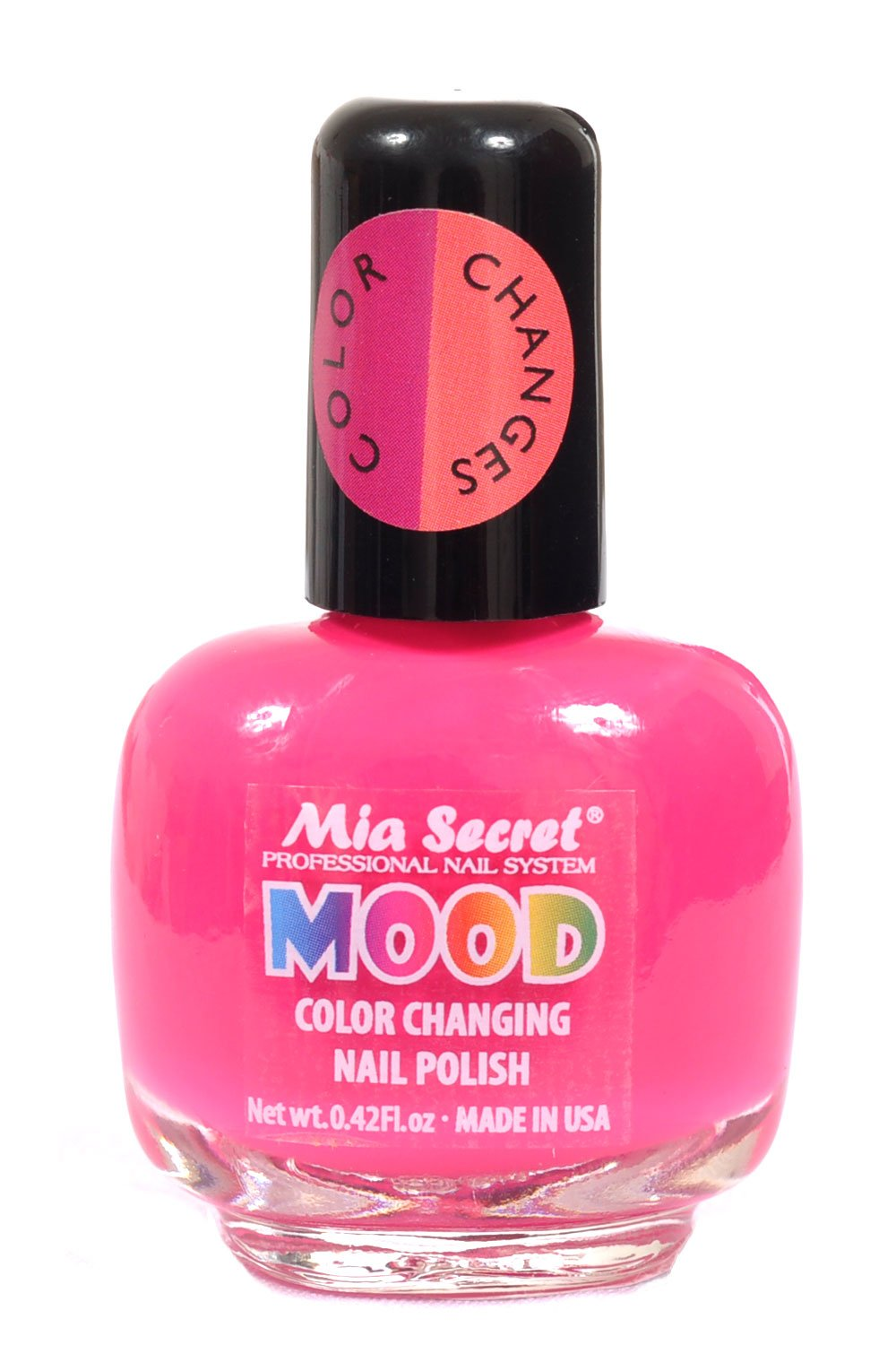 Amazon.com : Mia Secret Mood Nail Lacquer Color Changing Nail Polish ...