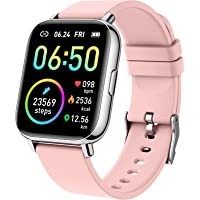 """Smartwatch, 1.69"""" Reloj Inteligente Mujer Impermeable IP68 Pulsera Actividad 24 Modos Deporte con Pulsómetro Monitor de…"""
