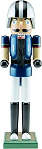 Clever Creations Football Player 15 Inch Traditional Wooden Nutcracker, Festive Christmas Décor for Shelves and Tables