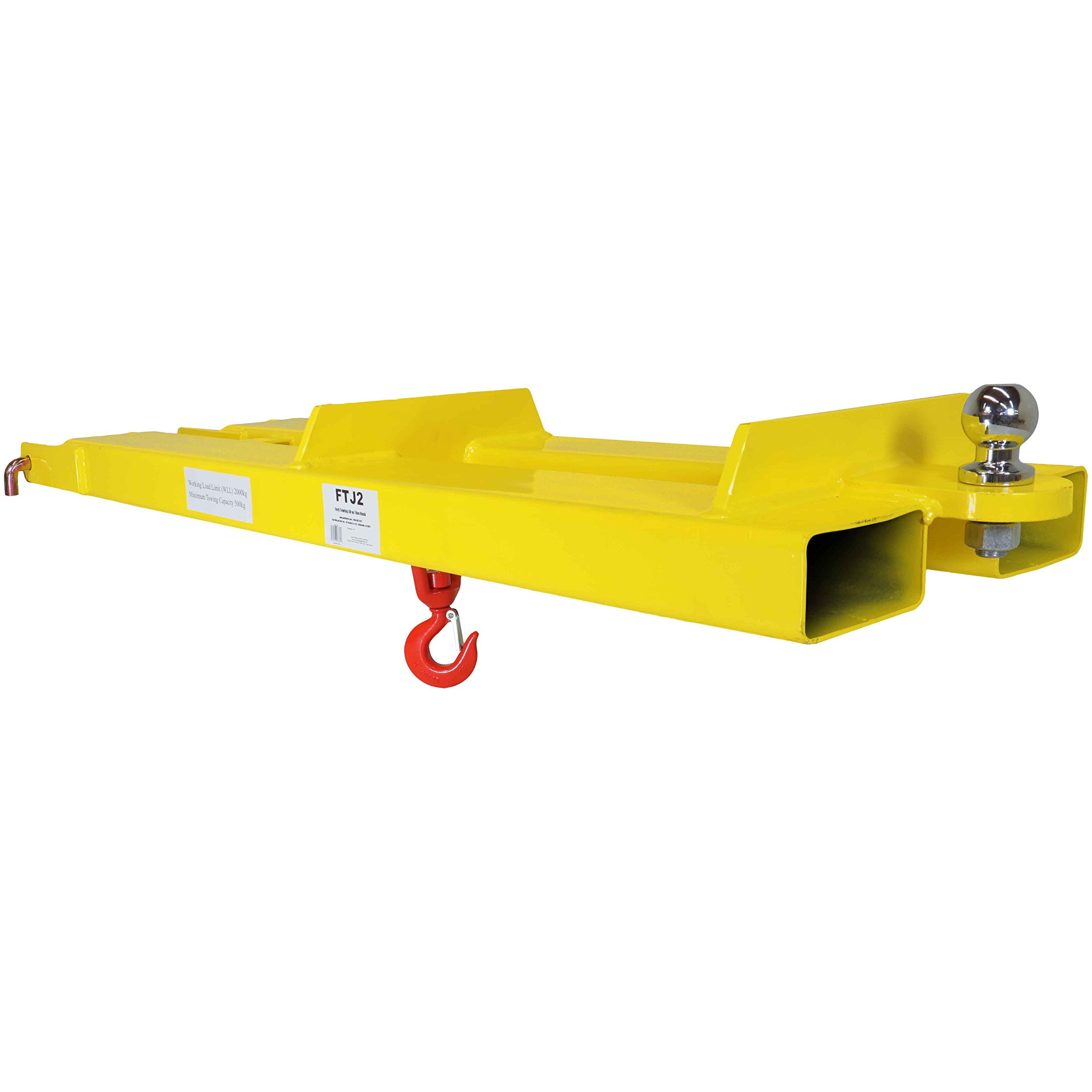 Titan Pallet Fork Forklift Mobile Crane Lifting Hoist Jib Boom Lifting Hook Receiver Ball for Towing by Titan Attachments