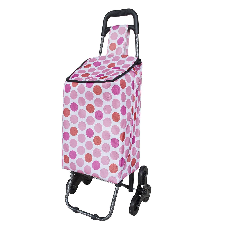 Trolley per la spesa per salire le scale, diversi colori Pink MD-DEAL