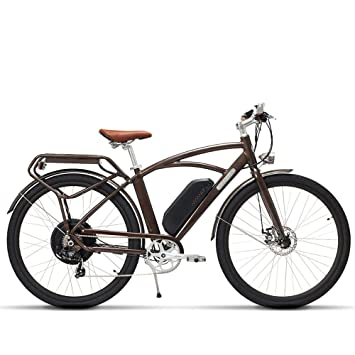 MSEBIKE Comet 700C Bicicleta Eléctrica 48 V 13Ah 500 W Bicicleta Eléctrica de Alta Velocidad 5