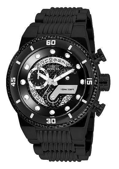 Invicta Reloj Cronógrafo para Hombre de Cuarzo con Correa en Acero Inoxidable 25284