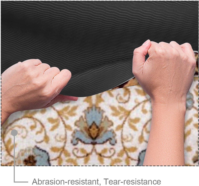Gimnasia Pilates Fitness Colchoneta Gruesa para Deportes Esterilla Yoga Mat Antideslizante Profesional Textura de alfombra persa Ecol/ógica
