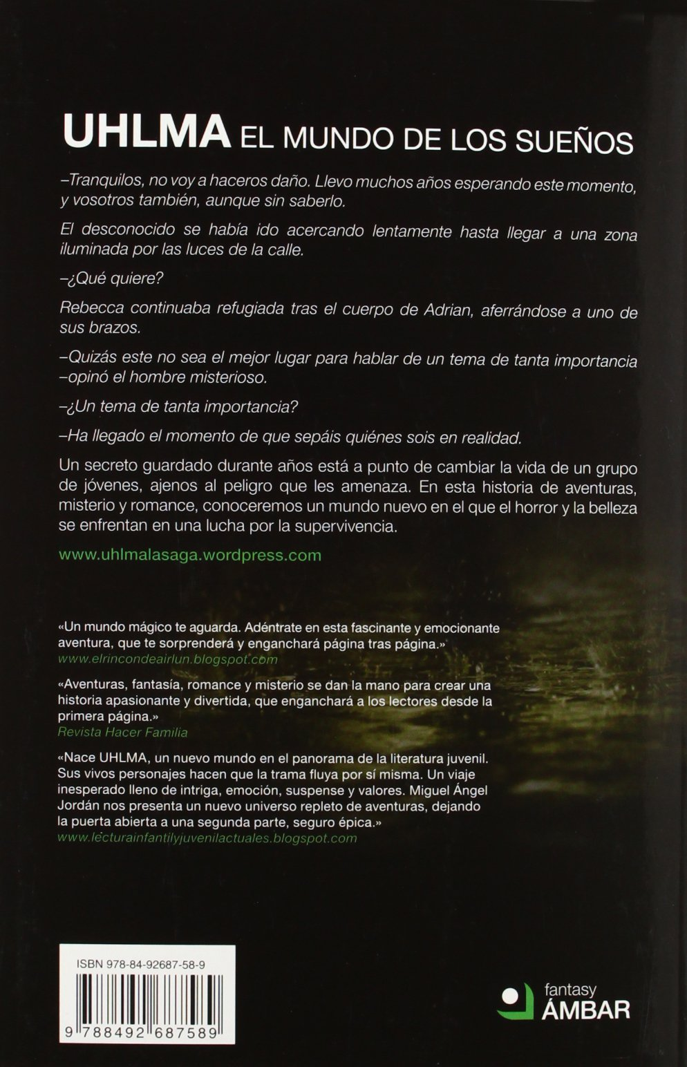 Uhlma. El mundo de los sueños: Miguel Ángel Jordán Enamorado: 9788492687589: Amazon.com: Books