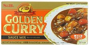 S&B Golden Curry Sauce Mix, Mild, 8.4-Ounce (Pack of 5)