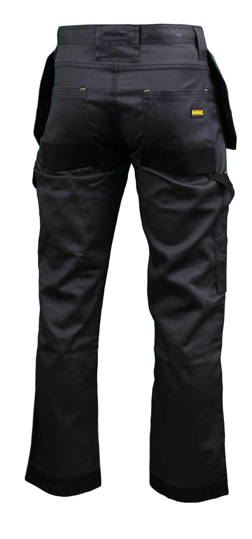 DEWALT DWC17 Mens Low Rise Multi-Pocket Work Trousers 31//33 Leg-1 Grey//Black