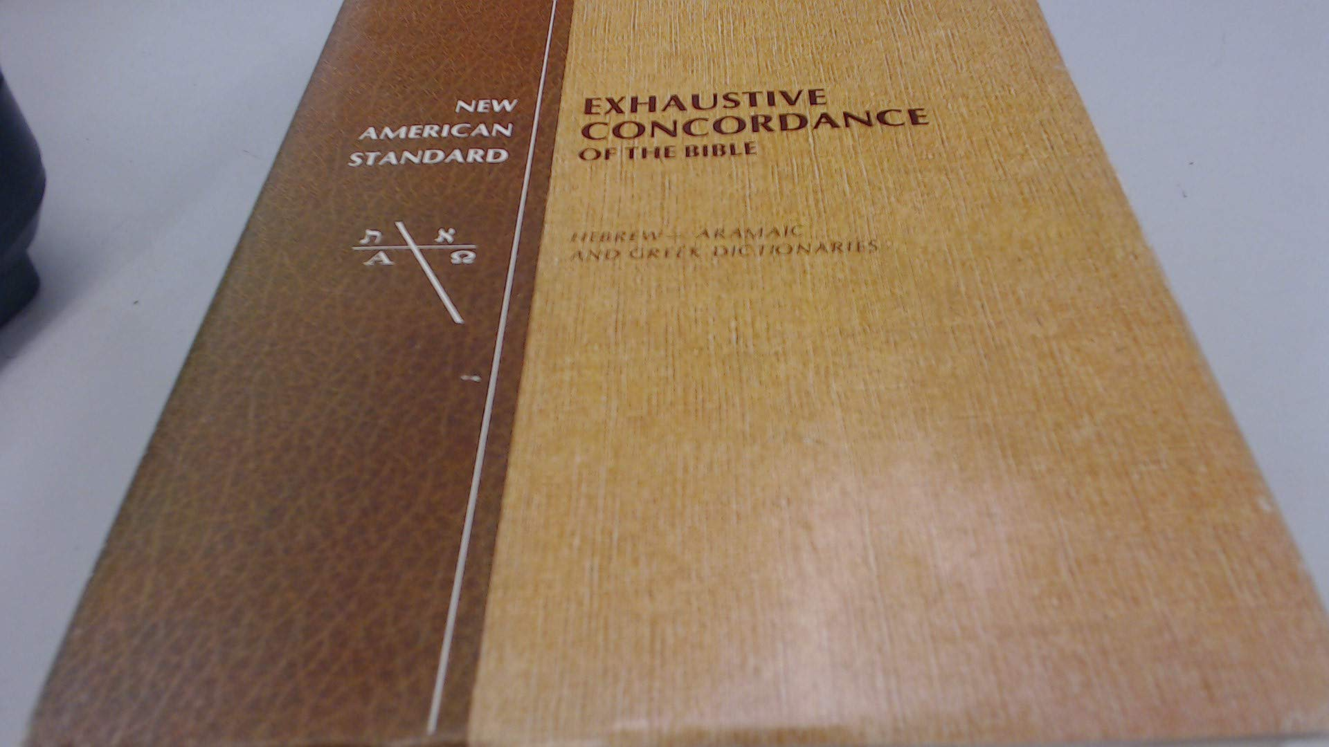 New American Standard Exhaustive Concordance of the Bible