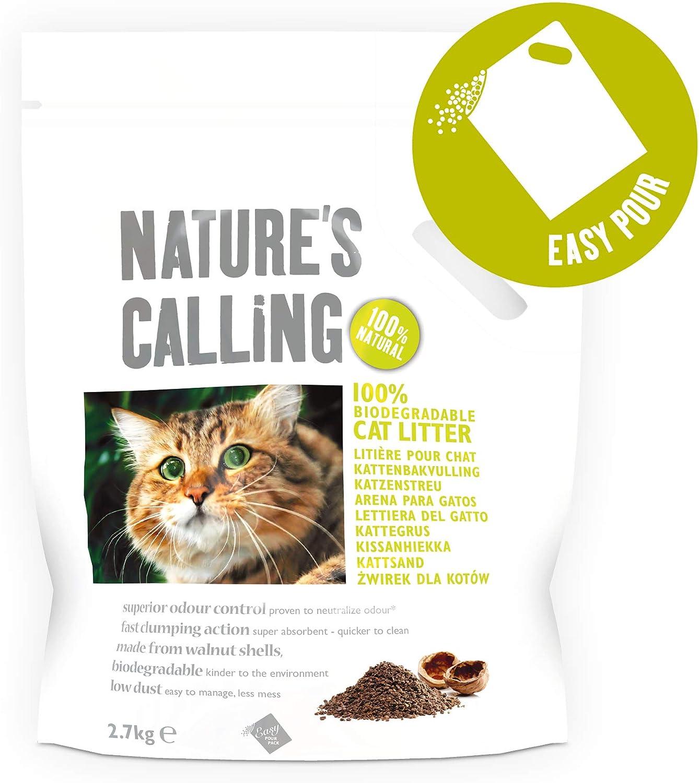 Nature s Calling Cat Litter, Arena/Llamado de la naturaleza, 6 kg ...