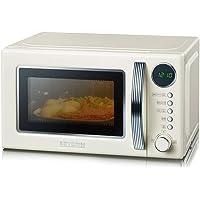 Severin MW - Microondas con grill 2 en 1, 700 W, 20 l, 5 niveles de potencia, 8 programas de cocinado
