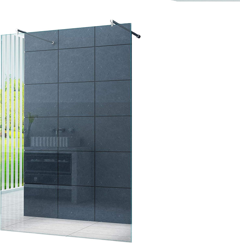 Pedestal 10 mm cabina de ducha Düsseldorf 160 x 200 cm/Walk-in de ...