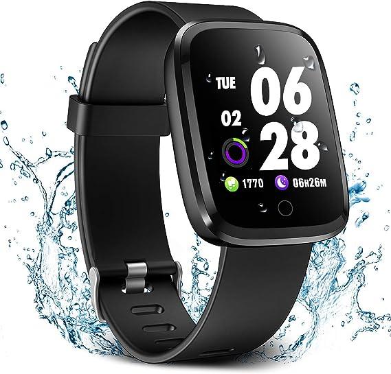 Amazon.com: Verpro - Reloj inteligente con monitor de ritmo ...