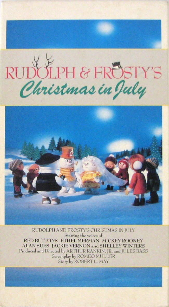 Rudolph And Frostys Christmas In July Dvd.Amazon Com Rudolph Frosty S Christmas In July Red