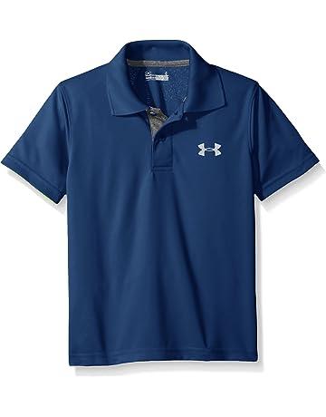 7c418bd951b Under Armour Boys  Ua Logo Short Sleeve Polo
